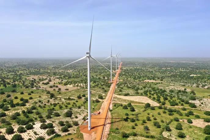 Le Sénégal achève le plus grand parc éolien d'Afrique de l'Ouest