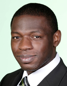 FABRICE YAMGOUE: Speaking at the Enex Africa event