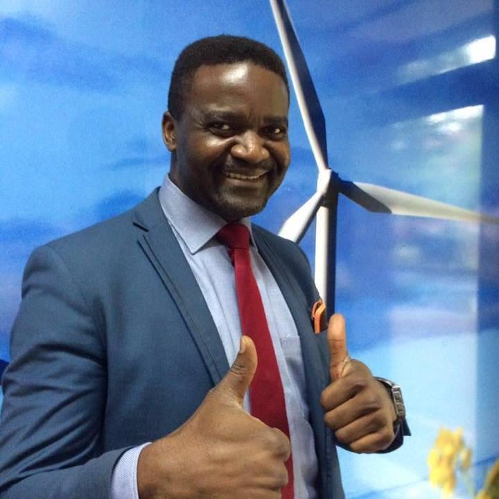 SIMPLICE NDAGO: Speaking at the Enex Africa event
